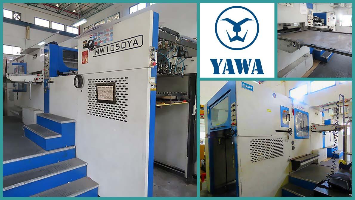 автоматический высечной пресс Yawa MW 1050 YA (2006)