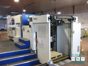 штанцевальный автомат Yawa MW 1050 YA