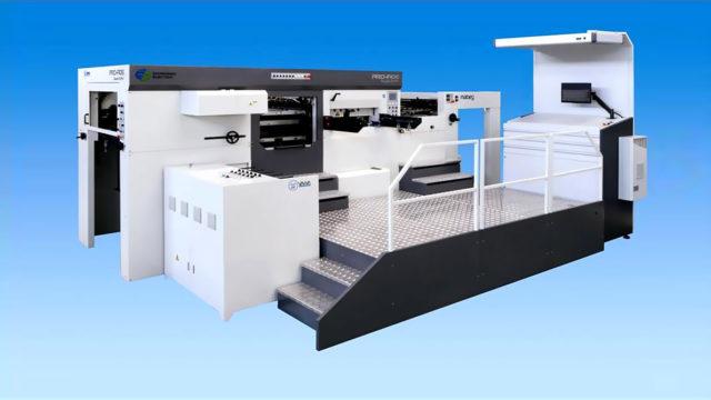 автоматическая машина для высечки и тиснения Yawa PRO-F106