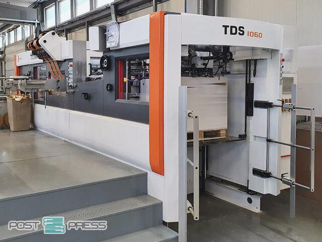 автоматический пресс для тиснения Yawa TDS 1060 (2018)