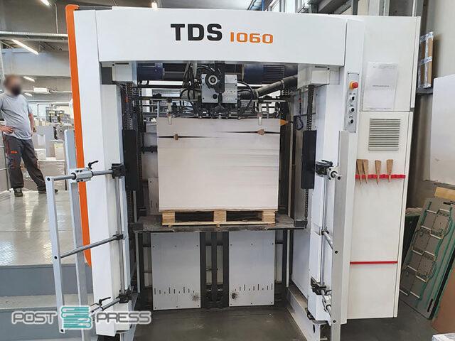 пресс для горячего тиснения фольгой Yawa TDS 1060 (2018)