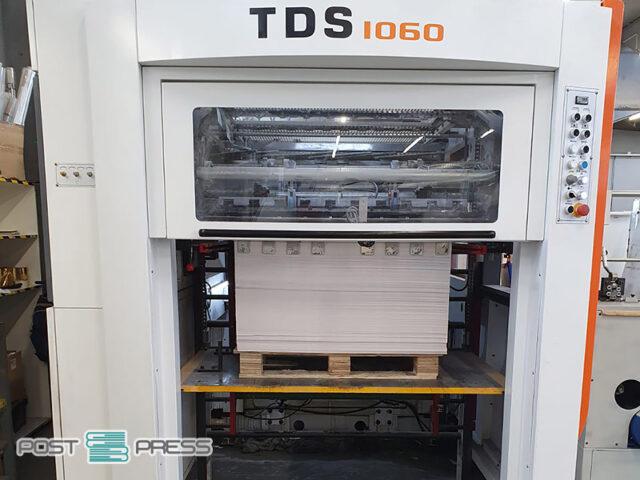 китайский автомат для тиснения фольгой Yawa TDS 1060 (2018)