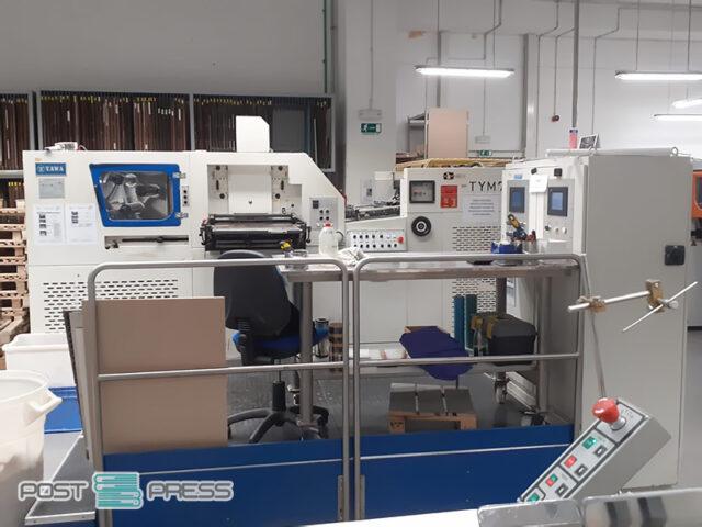 пресс для вырубки и тиснения Yawa TYM 790 (2007)