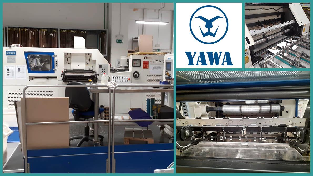 hot foil stamping & die-cutting Yawa TYM 790 (age 2007)