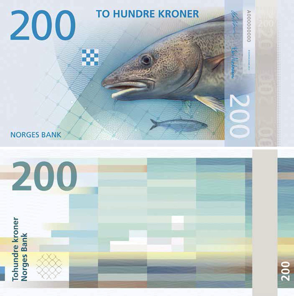 200 норвежских крон (ввод в обращение в 2017 году)