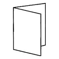 1 симметричный параллельный фальц = 4 страницы
