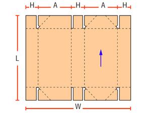 6 точечные сборные коробки