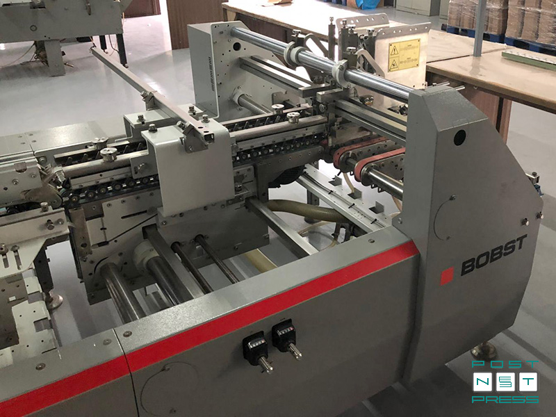 самонаклад Accufeed (Bobst Expertfold 110 A2, 2013 год)