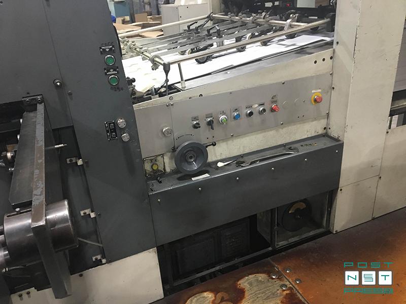 высекальный пресс Bobst SP-102 CER (разделение заготовок)