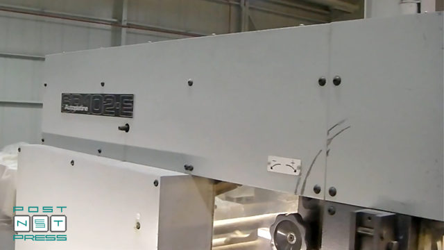 штанцавтомат Bobst SP102-E (паллетный выклад)