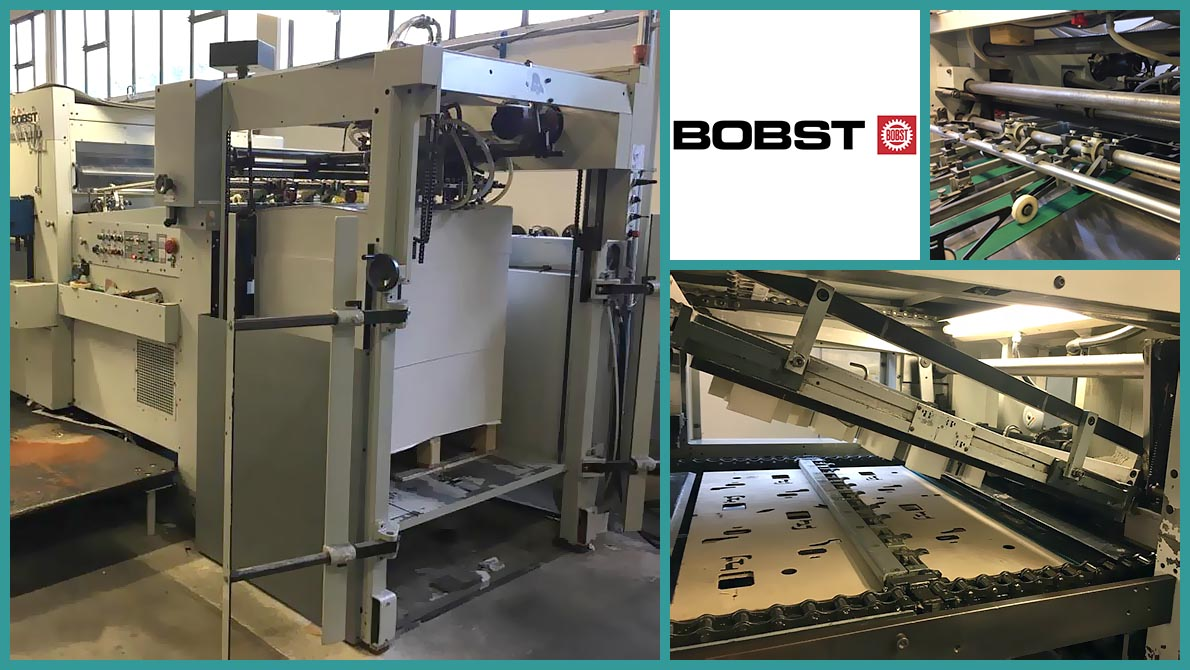 used die-cutting press Bobst SP102-E (1989)