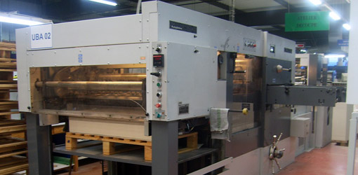 Bobst SP102-E to Russia