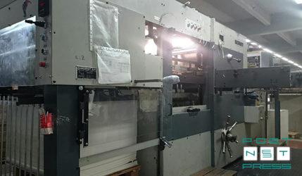 высекальный пресс Bobst Autoplatine SP 102E (б/у)