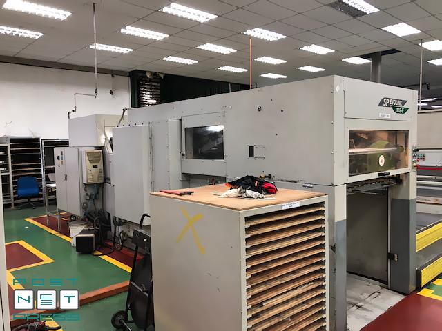 высекательный автомат Бобст SP 102-E Evoline (приёмка)