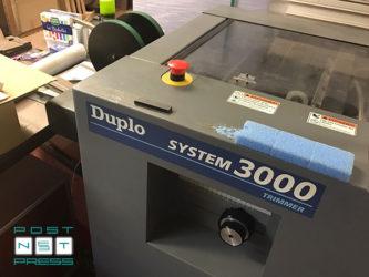 приёмка листоподборки Duplo System 3000