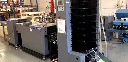 вакуумная листоподборка Duplo System 5000, DBM-500, DBM-500 T (2004 год выпуска)