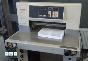 бумагорезательная машина EBA Multicut 10/550 CNC (1991 год)