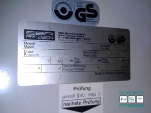 гильотина EBA Multicut 10-550 CNC (шильдик)