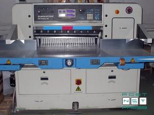 гильотина для бумаги Eurocutter 920 с дисплеем AD (б/у)