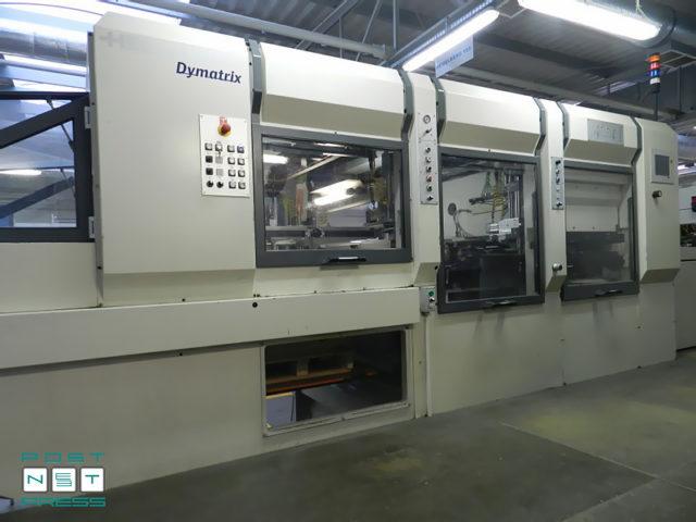die-cutter with blanking Heidelberg Dymatrix 105 CSB Pro, age 2008