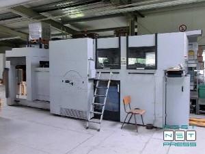 нерабочая сторона оборудования Heidelberg Dymatrix 105 CS (автоматическая смазка)