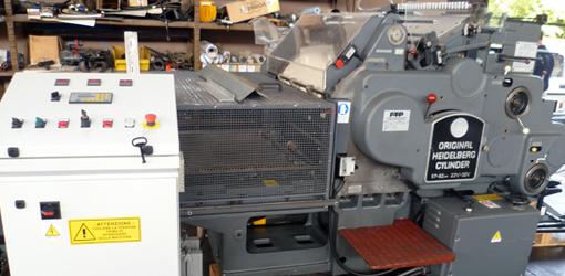 стоп-цилиндр Heidelberg SBB с приставкой для тиснения фольгой FTP (б/у)