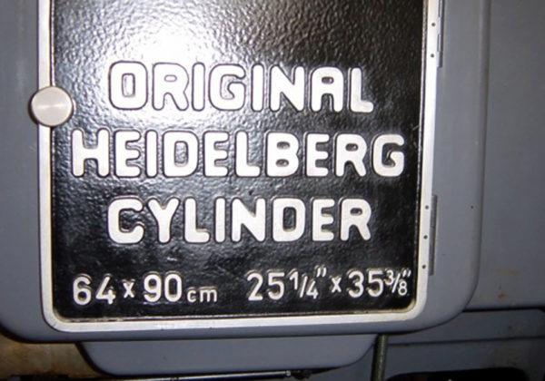 Original Heidelberg SBD (cylinder)