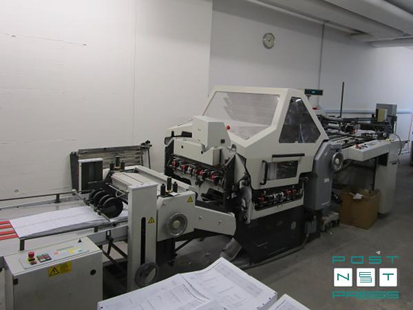 комбинированная фальцовка Heidelberg KD 78/4 KL, 2003 год