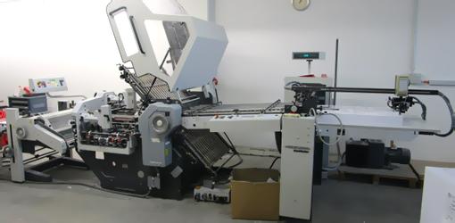 продажа фальцовки Heidelberg Stahlfolder KD78/4 KL, 2003 год