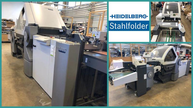 16-страничная фальцовка Heidelberg Stahlfolder KH 56/6 KL, 2008 год