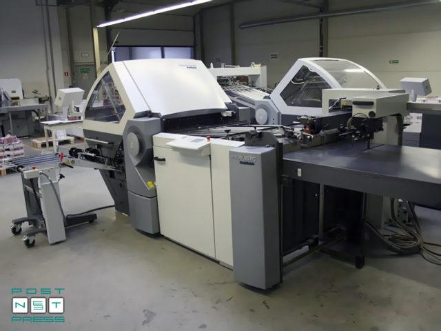 folding machine Heidelberg Stahlfolder KH 78/4 KTL (2006)