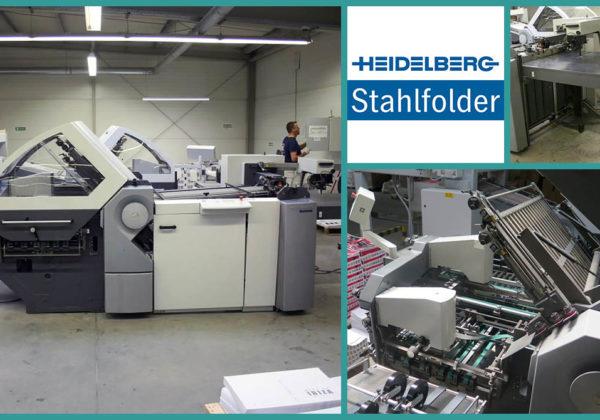 кассетно-ножевая фальцовка Heidelberg Stahlfolder KH 78/4 KTL (2006)