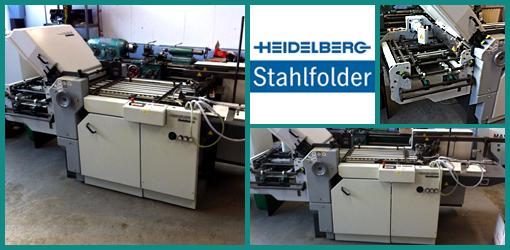 продам кассетно-ножевую фальцовку Heidelberg Stahlfolder Ti 52/4 KBi (2001 год)