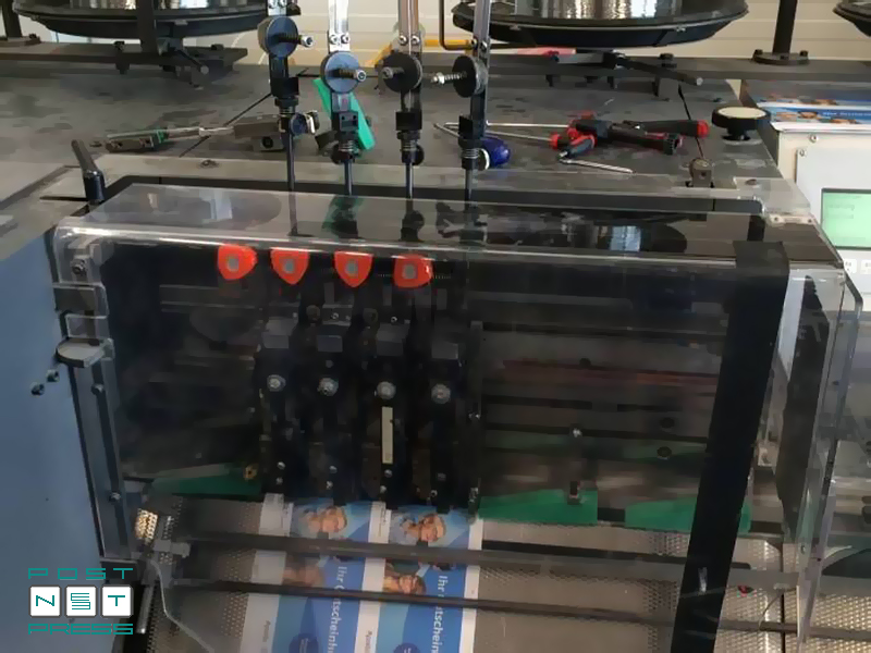 проволокошвейные головки Hohner в ВШРА Heidelberg Stitchmaster ST-300