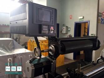 протяжка и электронный пульт управления Heidelberg GT (горячее тиснение фольгой)