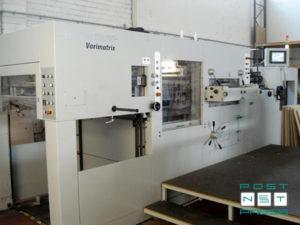 высекальная машина Heidelberg Varimatrix 105 CS