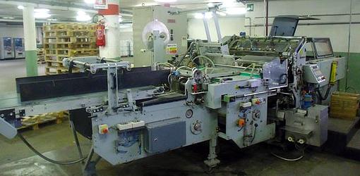 б/у крышкоделательная машина Hoerauf BDM 60, 1996 год выпуска