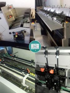 вкладочно-швейно-резательный автомат Hohner HSB-7000, б/у