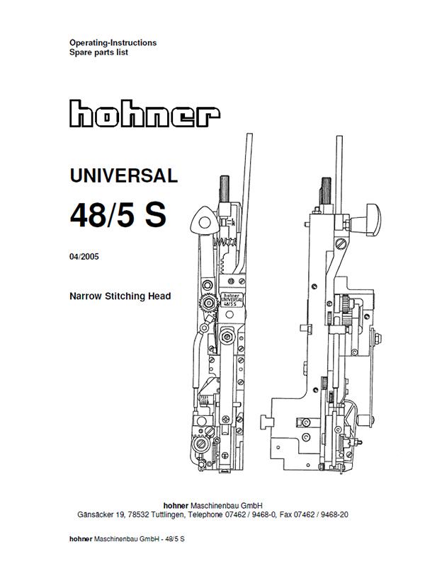 Hohner Universal 48/5 S (руководство пользователя)