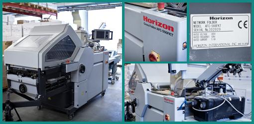кассетно-ножевая фальцевальная машина Horizon AFC-566 FKT (2007)