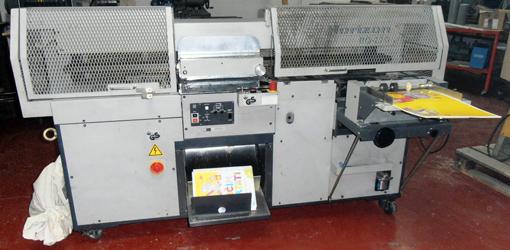машина клеевого бесшвейного скрепления Horizon BQ-220 (б/у)
