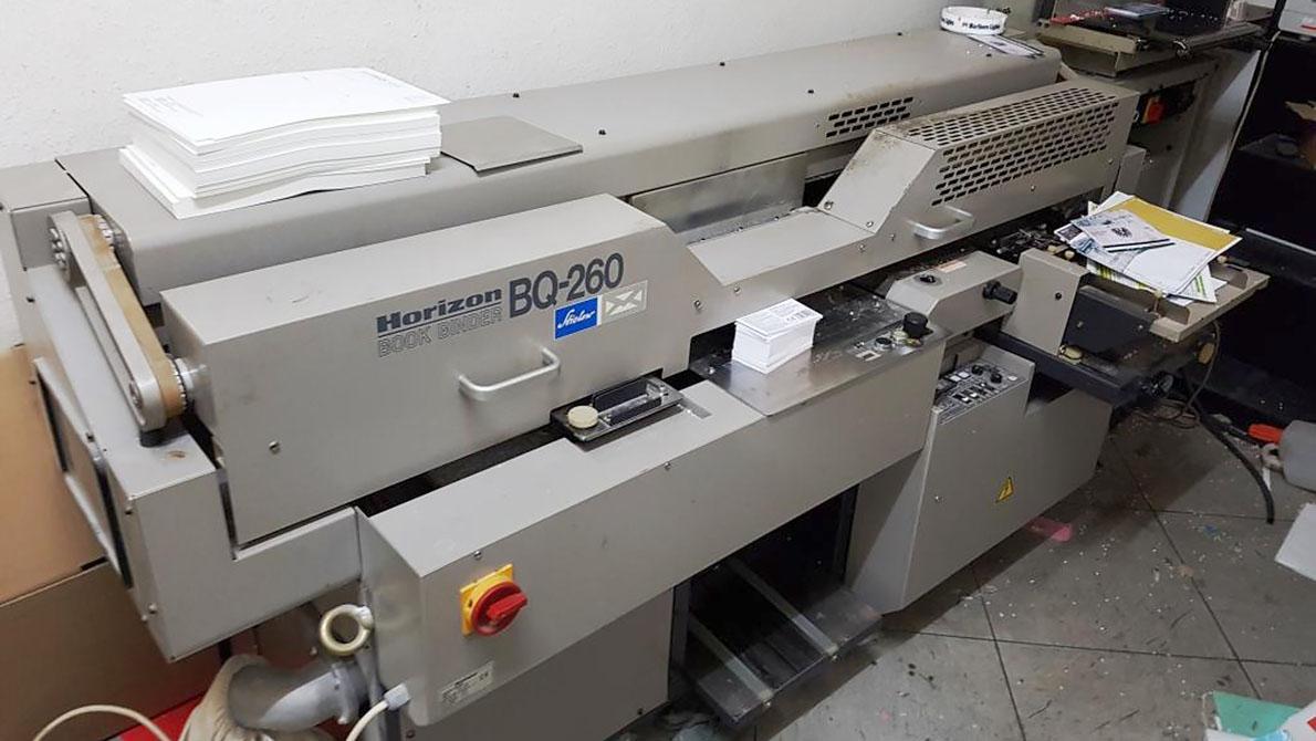 термобиндер Horizon BQ-260 (2000 год)