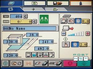 пульт управления с цветным сенсорным дисплеем и интерфейсом touch&work