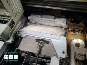 подготовка корешка – фрезеровка и торшонирования (Горизонт BQ470)