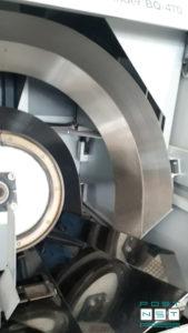боковая проклейка корешка роликами EVA-клеем (Horizon BQ-470 PUR)