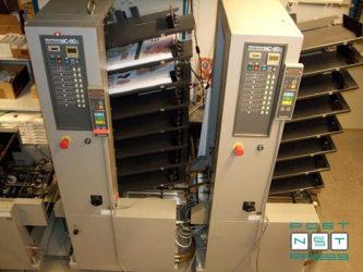 2 вакуумные листоподборочные башни Horizon MC-80a и MC-80c на 8 лотков