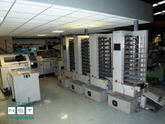 листоподборочно-брошюровальная линия Horizon StitchLiner 5500 (2005 год)
