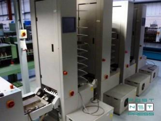 4 листоподборочные башни Horizon VAC-100 (с компрессорами)