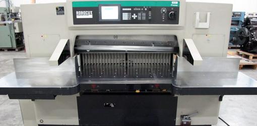 одноножевая бумагорезательная машина ITOTEC Robocut eRC-115DX, 2004 года