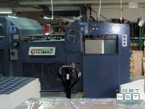 высекальный автомат Iberica DG-60 (с удалением облоя)